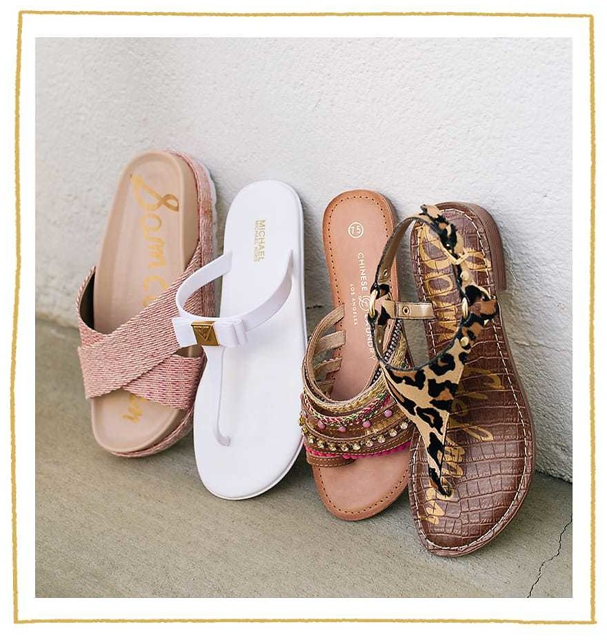 Sandals Sam Edelman, Chinese Laundry and More! NEW & UNDER $30 Shop Now. | 6PM
