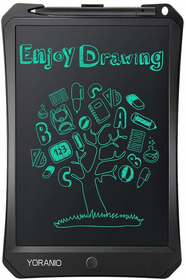 Yoranio 11 Inch Digital LCD Writing Drawing Tablet, Handwriting Paper Doodle Board for School and Office, The Best Choice of Gift to Kids & Adults: Computers & Accessories
