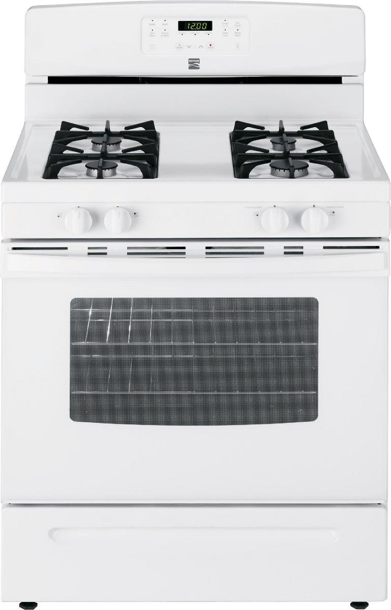 Kenmore - 74032 - 5.0 Cu. Ft. Gas Range - White | Sears Outlet