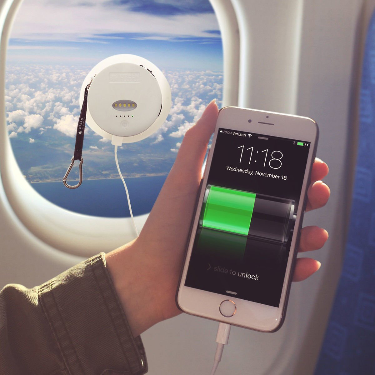 Hot Portable Power Banks 6000 MAh Solar Powered Phone Charger External Battery for Sale Online