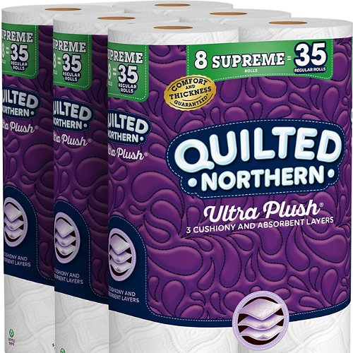 105-Count Quilted Northern Ultra Plush Toilet Paper