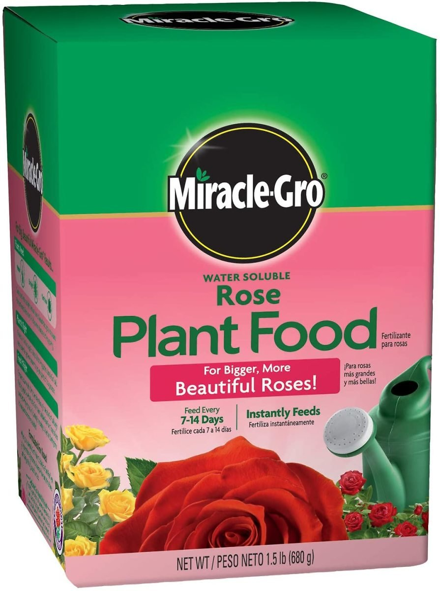 1.5-Lb Miracle-Gro Water Soluble Rose Plant Food
