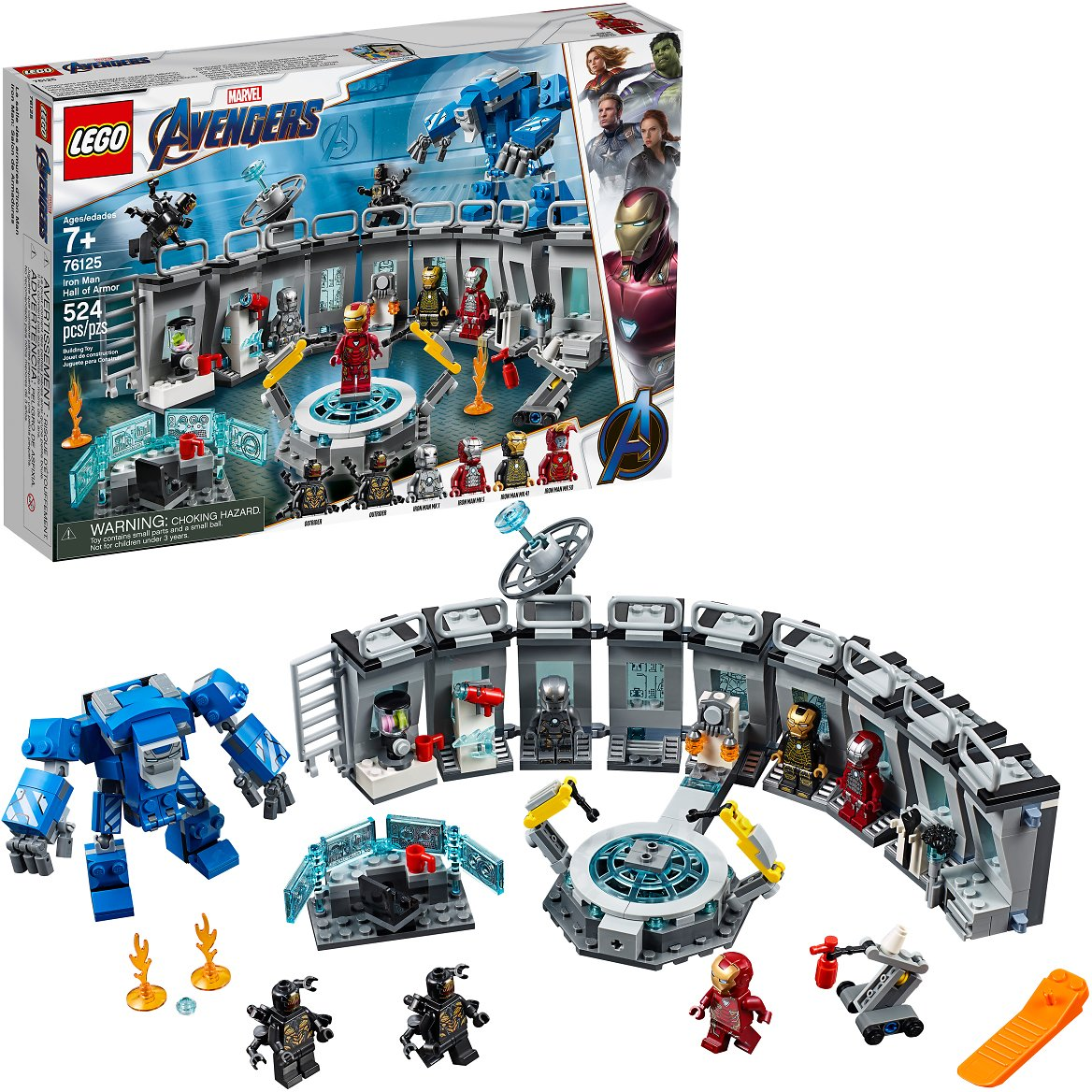 LEGO Marvel Avengers Iron Man Hall of Armor