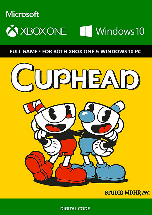Cuphead (Xbox One & PC Versions Included) Play Anywhere Title