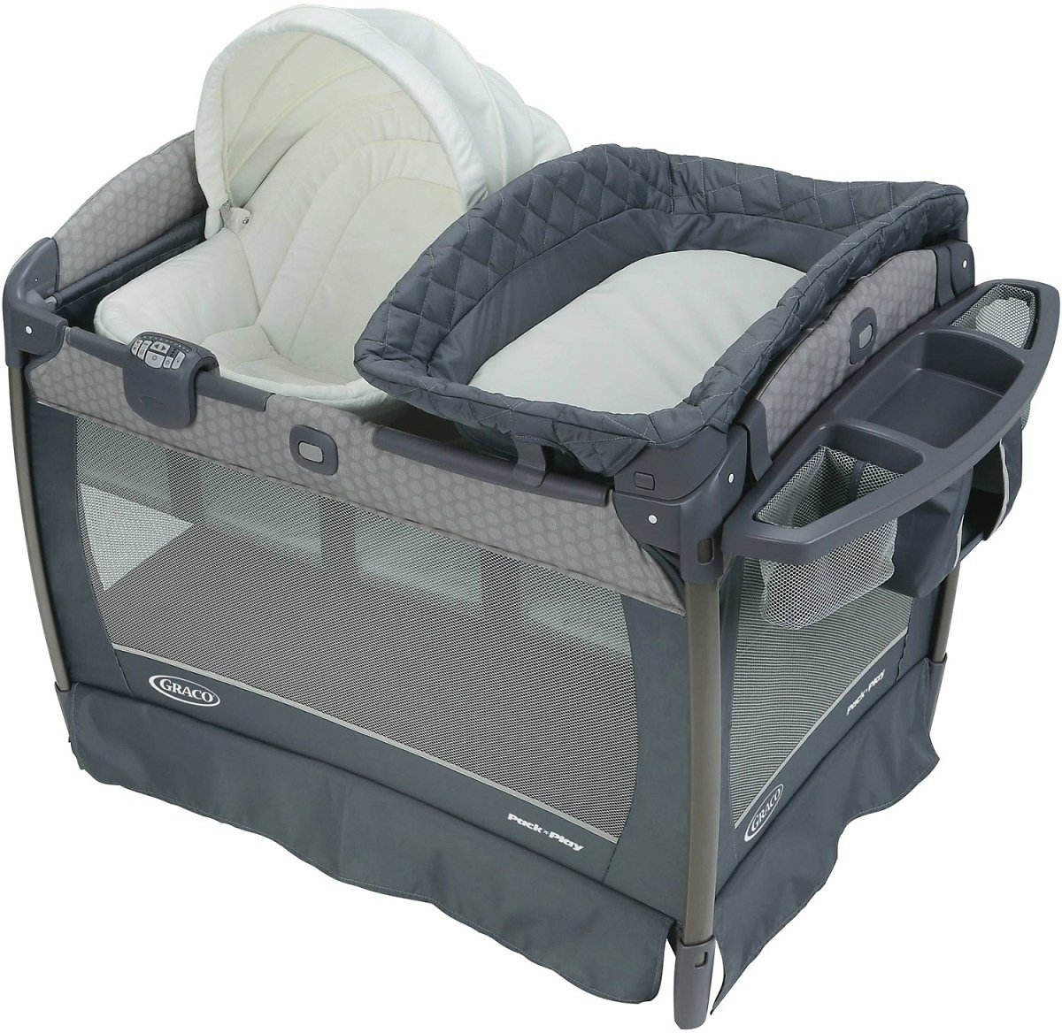 Graco Pack 'n Play Newborn Napper Oasis Playard with Soothe Surround® Technology