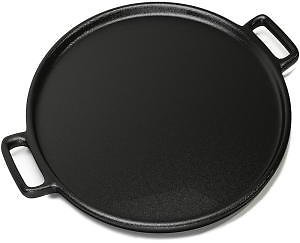 Home-Complete 14 In. Cast Iron Pizza Pan