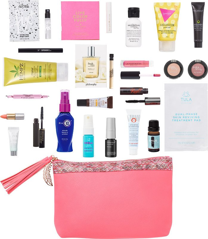 FREE 23 Pc Free Spirit Beauty Bag with Any $80 Online Purchase | Ulta Beauty