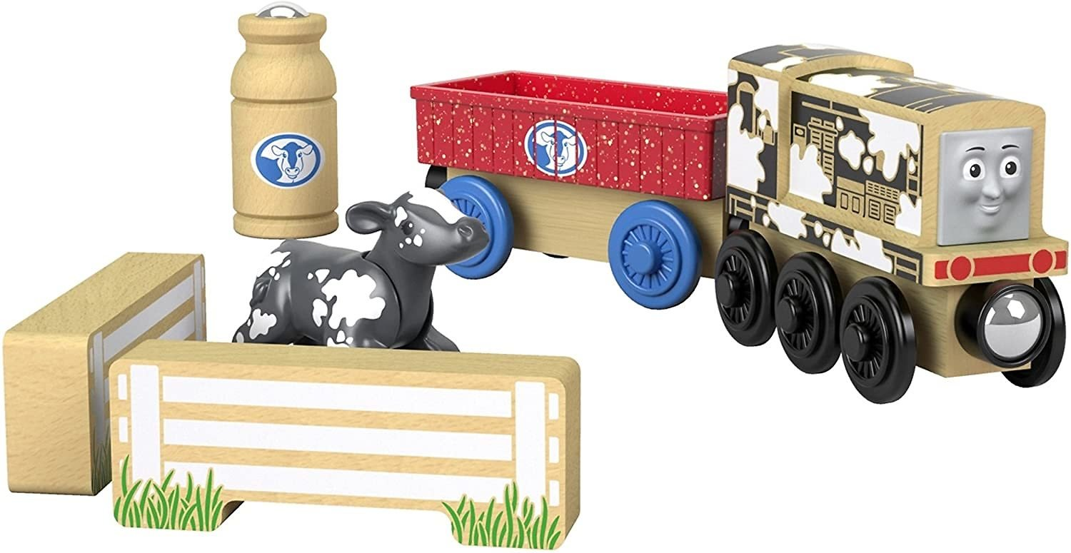 Today Only! Thomas & Friends Wood Diesel's Dairy Drop-off