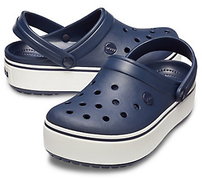 Crocs Men's & Women's Crocband Platform Clogs