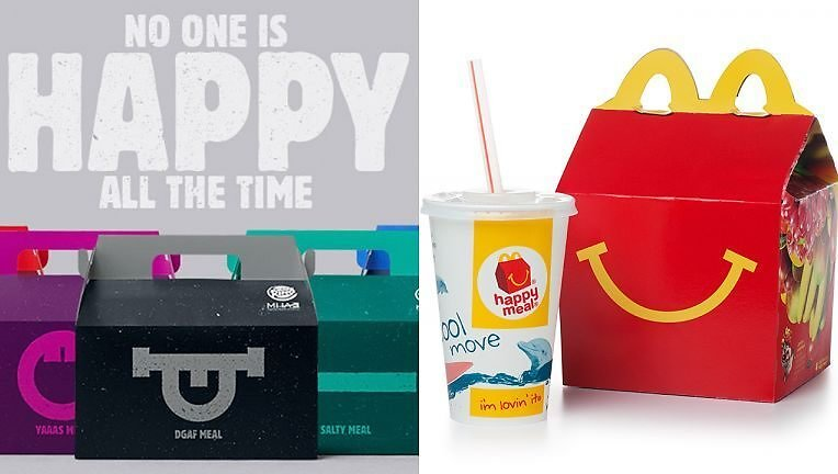Burger King Takes On McDonald's Happy Meals with 'moody' Boxes