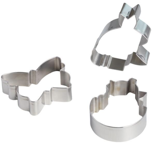 Easter Icons Metal Cookie Cutters (3 Pack)