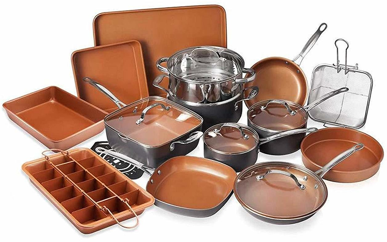 20 Piece All in One Kitchen Cookware