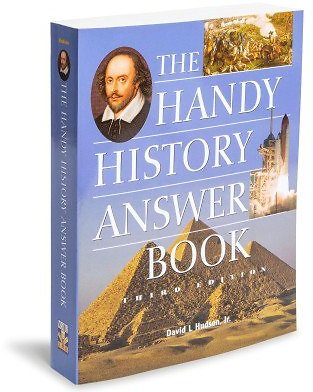 The Handy History Answer Book 3rd Edition By David L Hudson Jr