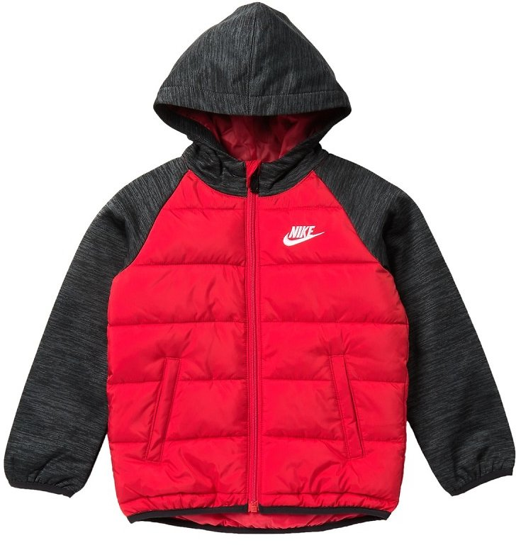 Nike | NSW Therma Fleece Quilted Jacket (Toddler Boys) | Nordstrom Rack