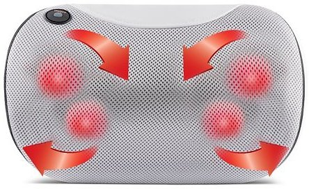 Belmint Shiatsu Pillow Massager with Heat for Back, Neck, and Shoulders for $32.26