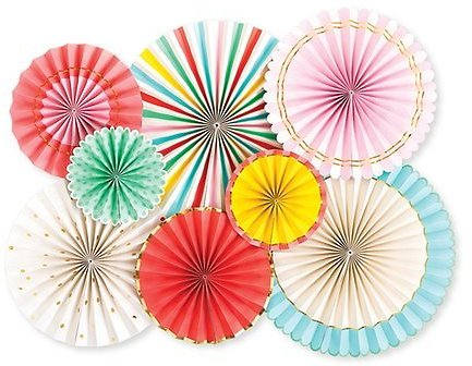 Love This Product Hip Hip Hooray Party Fan - Set of Eight My Mind's Eye $14.99 Suggested Value $24.99.