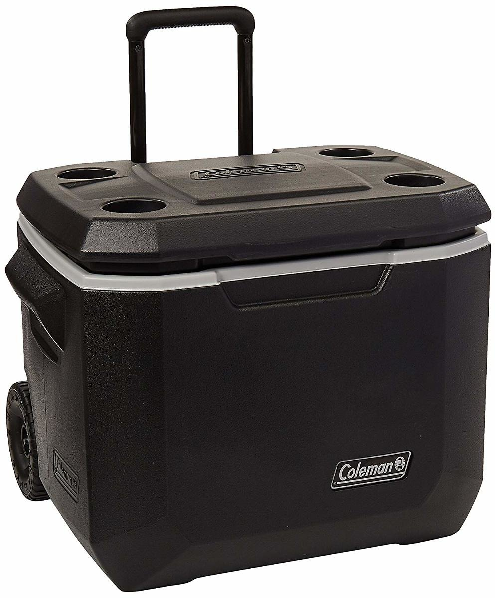 50-Quart Coleman Wheeled Cooler | Xtreme Cooler Keeps Ice Up to 5 Days