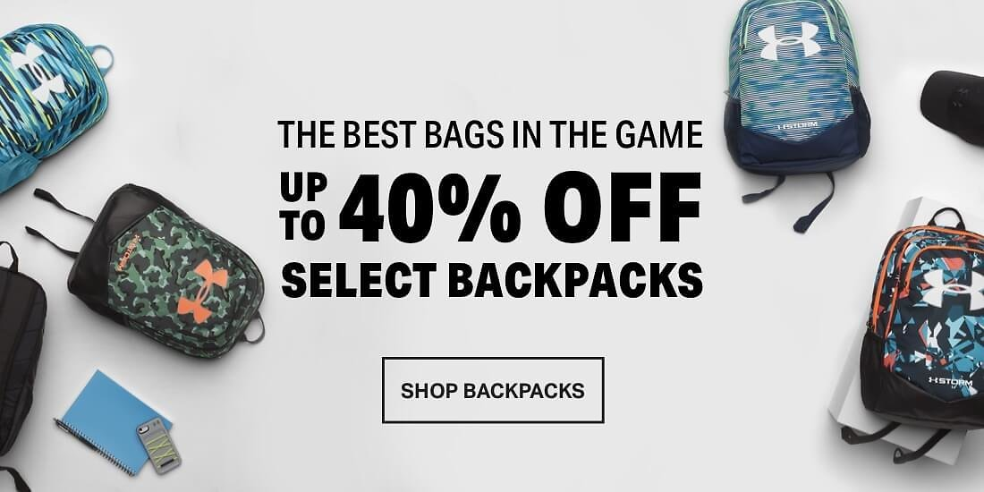 40% Off Outlet Bags & Duffles
