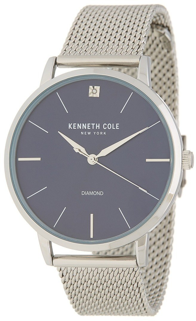 Kenneth Cole New YorkMen's Stainless Steel Mesh Watch