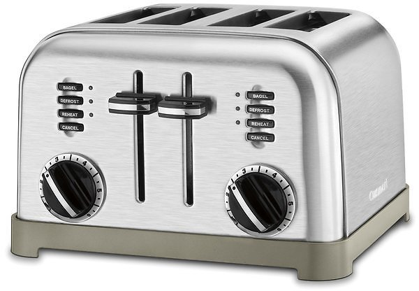 4-Slice Metal Classic Toaster