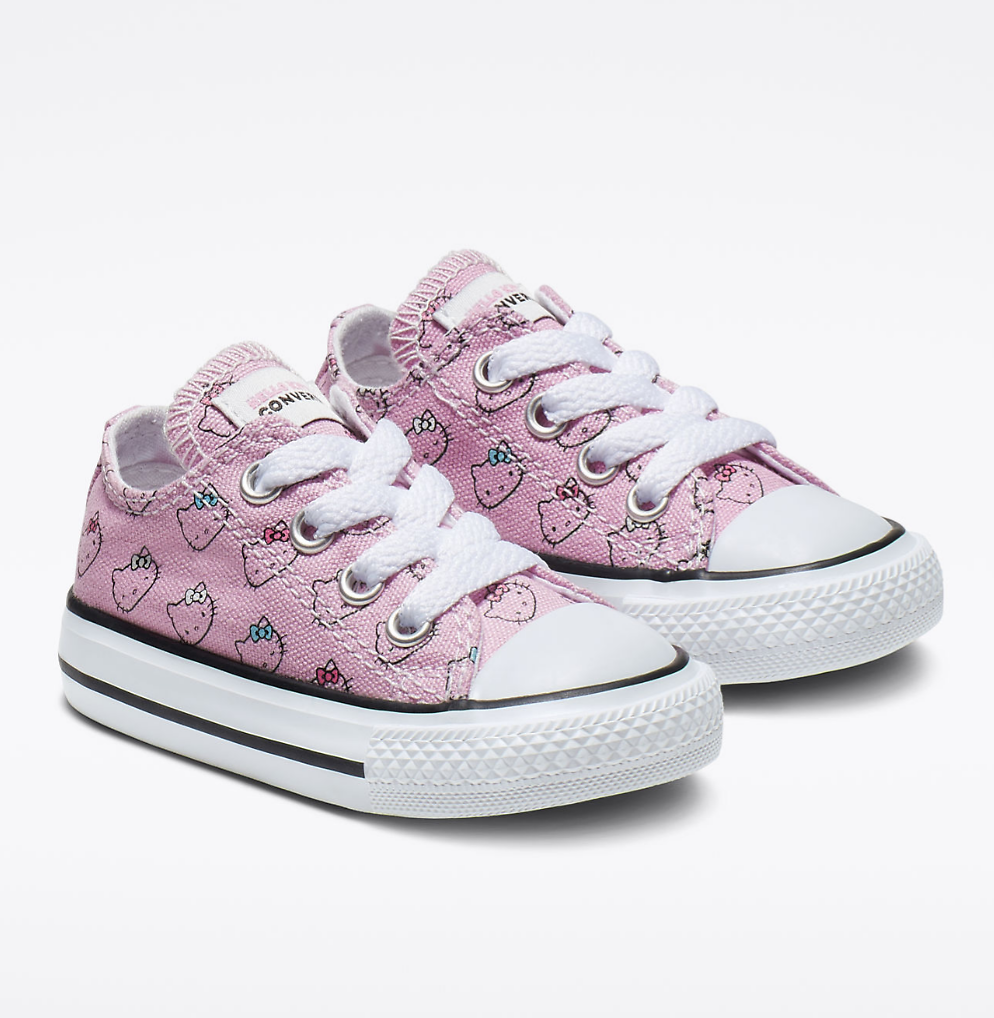Converse X Hello Kitty Toddlers' Chuck Taylor All Star Low Top Sneakers