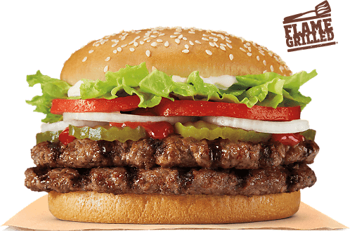 $3 Burger King Double Whopper! Today Only