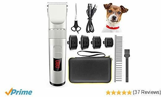 58% off Avaspot Dog Clippers, Professional Cordless Electric Pet Clippers