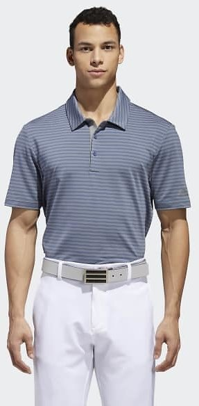 Ultimate365 Two-Color Stripe Polo Shirt