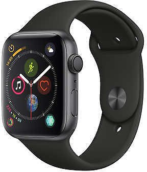 Apple Watch Series 4 GPS with Black Sport Band - 44mm - Space Gray