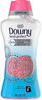 Downy Fresh Prct HE In-Wash Odor Defense Beads, April Fresh, 30.3 Oz