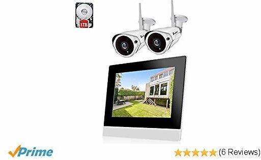 Luowice CCTV Home Security Camera System