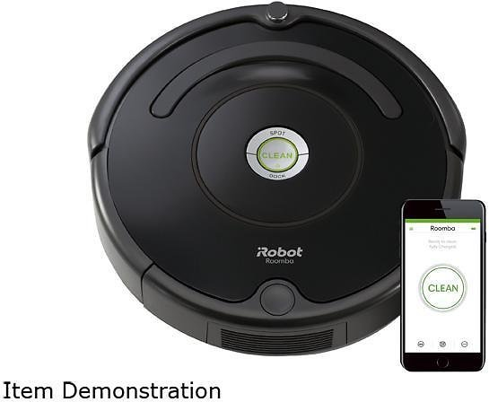 IRobot R675020 Roomba 675 Wi-Fi Connected Robot Vacuum