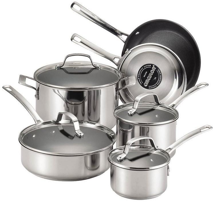 Circulon 10-pc. Stainless Steel Cookware Set | Bealls Florida