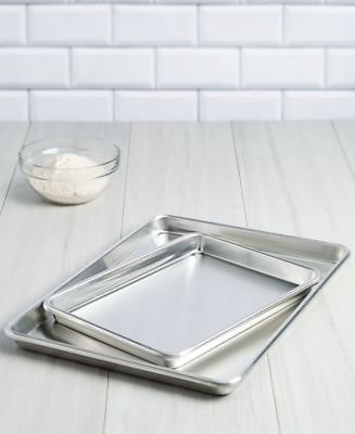 Goodful 2-Pc. Aluminum Cookie Sheet & Brownie Pan Set