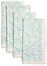 Set Of 4 Angelica Printed Napkins - Kitchen & Table Linens - T.J.Maxx