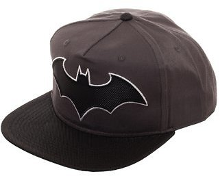 DC Comics Batman - Boy's Batman Snapback Hat with Woven Batman Emblem and Flat Bill