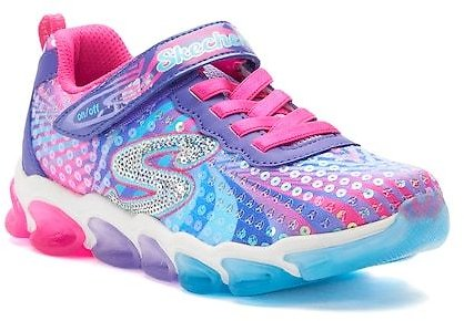 Skechers S Lights Jelly Beams Girls' Light Up Sneakers