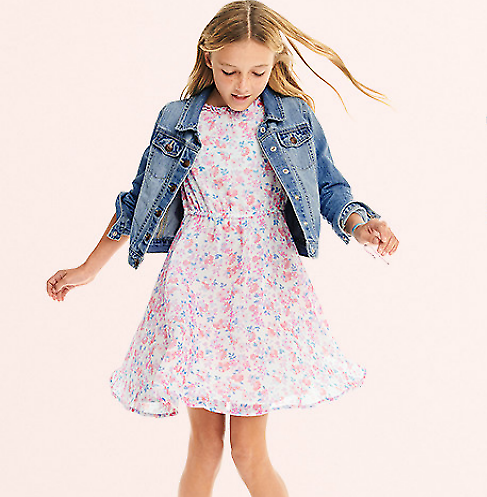 Up to 70% Girls Dresses + Extra 20% Off $50+
