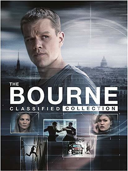 The Bourne Classified Collection: Jason Bourne 1-5