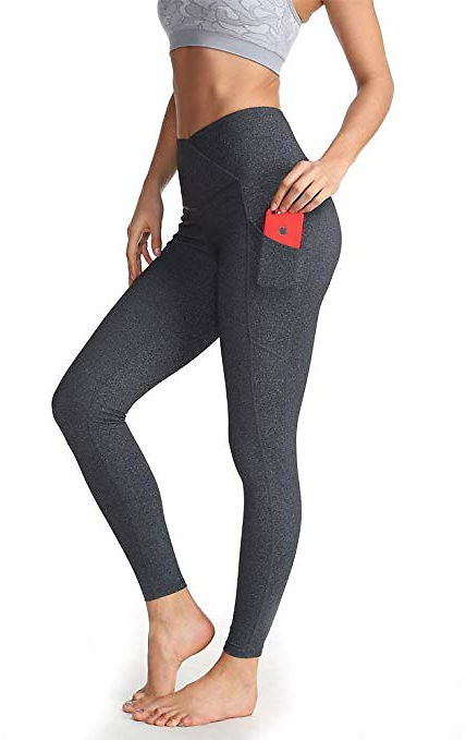 Yoga Pants for Women,High Waist Workout Tummy Control Pants Womens Active Wear Leggings with Pockets for Women