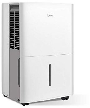 Today Only ! MIDEA MAD70C1YWS Dehumidifier 70 Pint