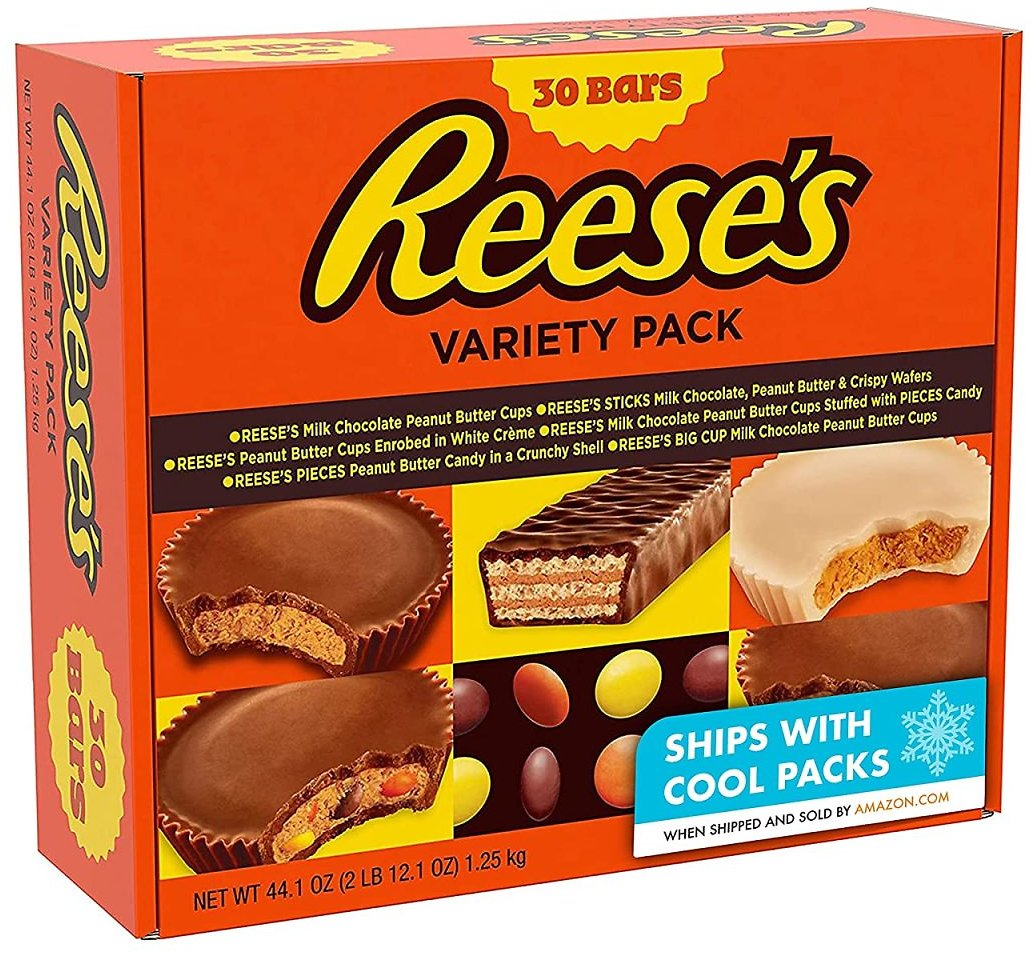 30-Count Reese's Chocolate Variety Pack