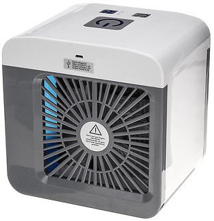 Portable Air Conditioner USB Air Cooler Humidifier Purifier Sprayer Desktop Mini Cooling Fan