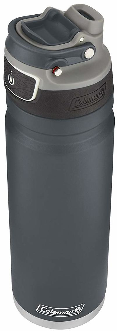 24oz Coleman FreeFlow AUTOSEAL Stainless Steel Water Bottle