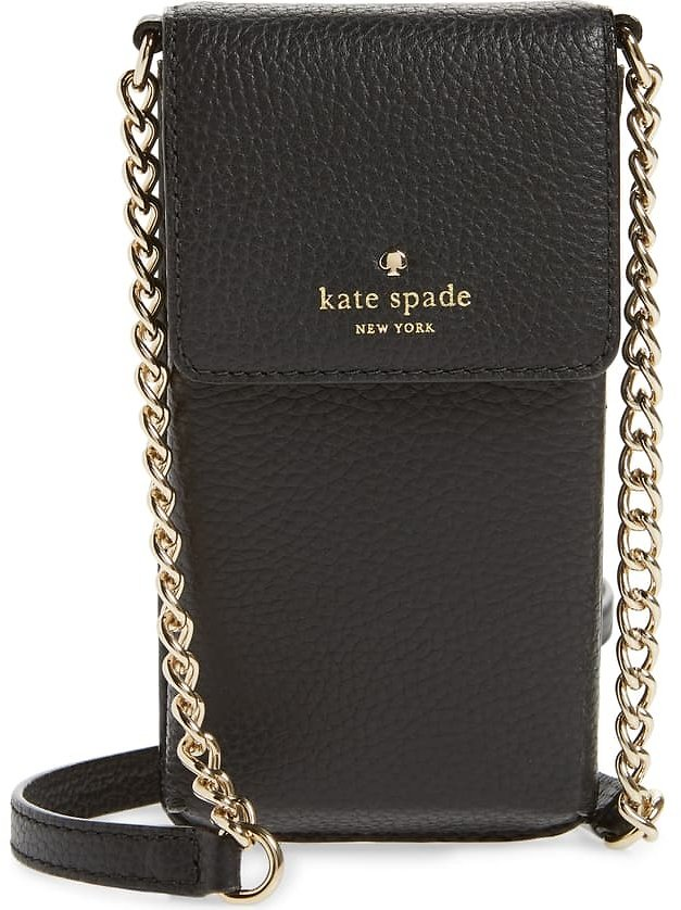 Kate Spade New York North/south Leather Smartphone Crossbody Bag | Nordstrom