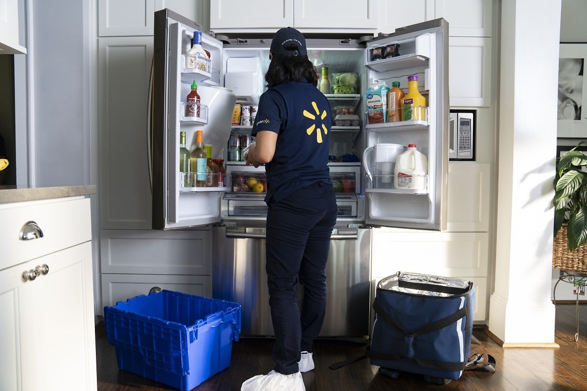 Announcing WALMART In Home Delivery