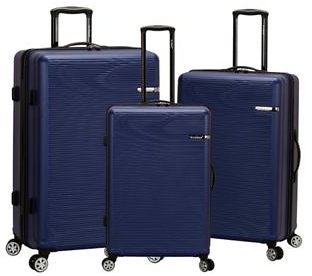 Skyline 3 Piece ABS Non-Expandable Luggage Set