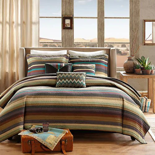 Sale On Madison Park Sequoia 6-pc. Quilted Coverlet Set