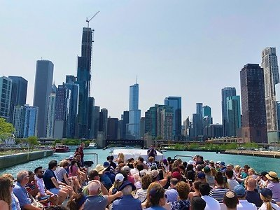 90-Minute Chicago Architecture Boat Tour One, Two, Three, or Four (Up to 41% Off)