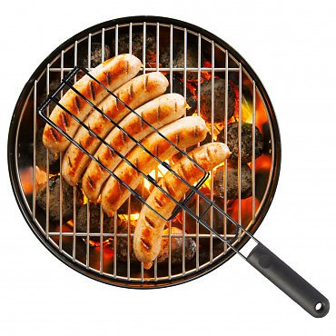 Sausage Basket – Grill 6 Sausages, Hotdogs Or Brats Perfectly
